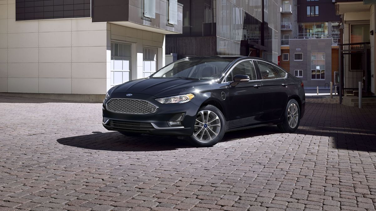 The 2020 Ford Fusion looks like it hasn't aged at all