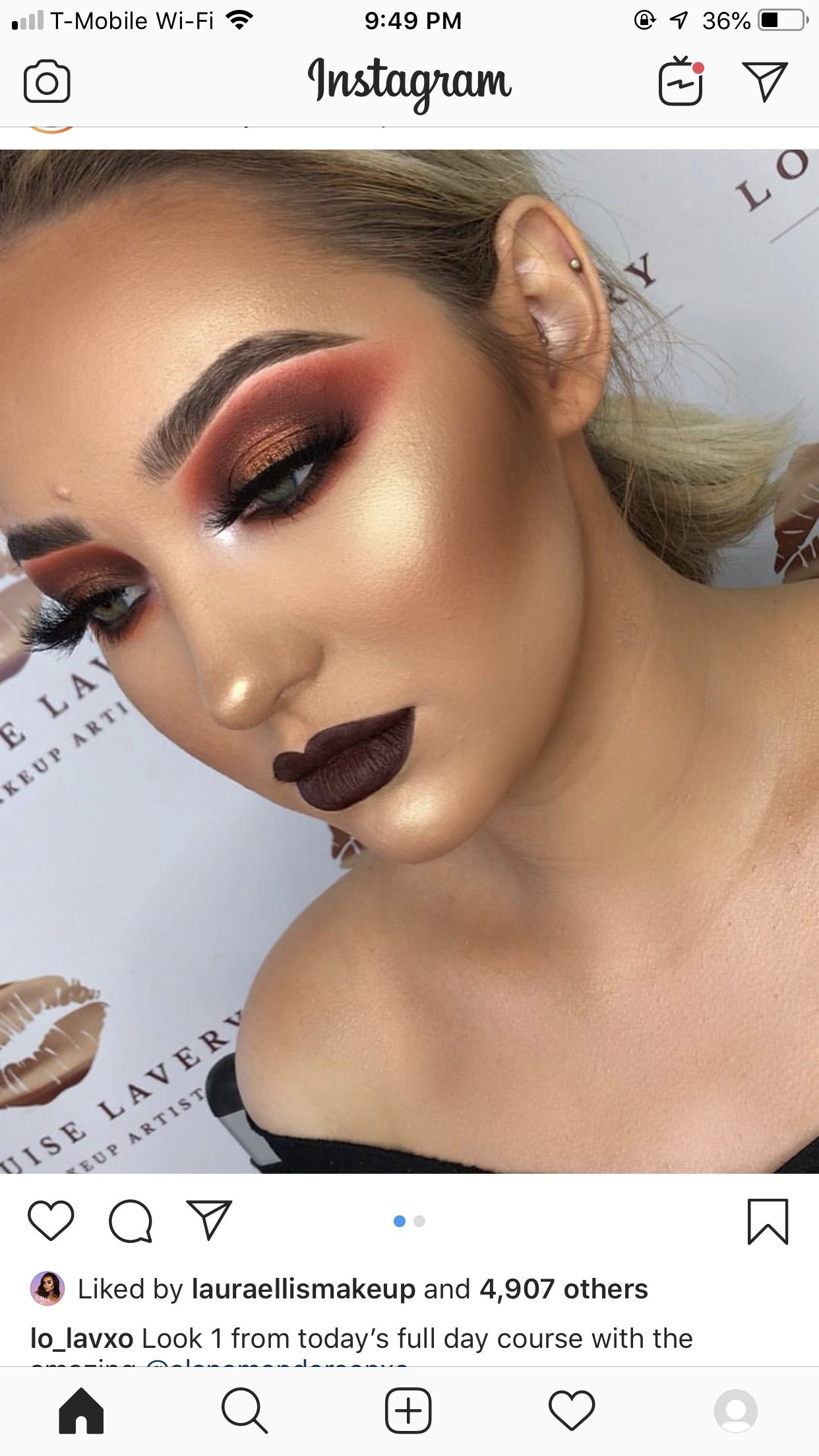 Pin By Carla Cordoves On Makeup Looks Makeup Looks Instagram