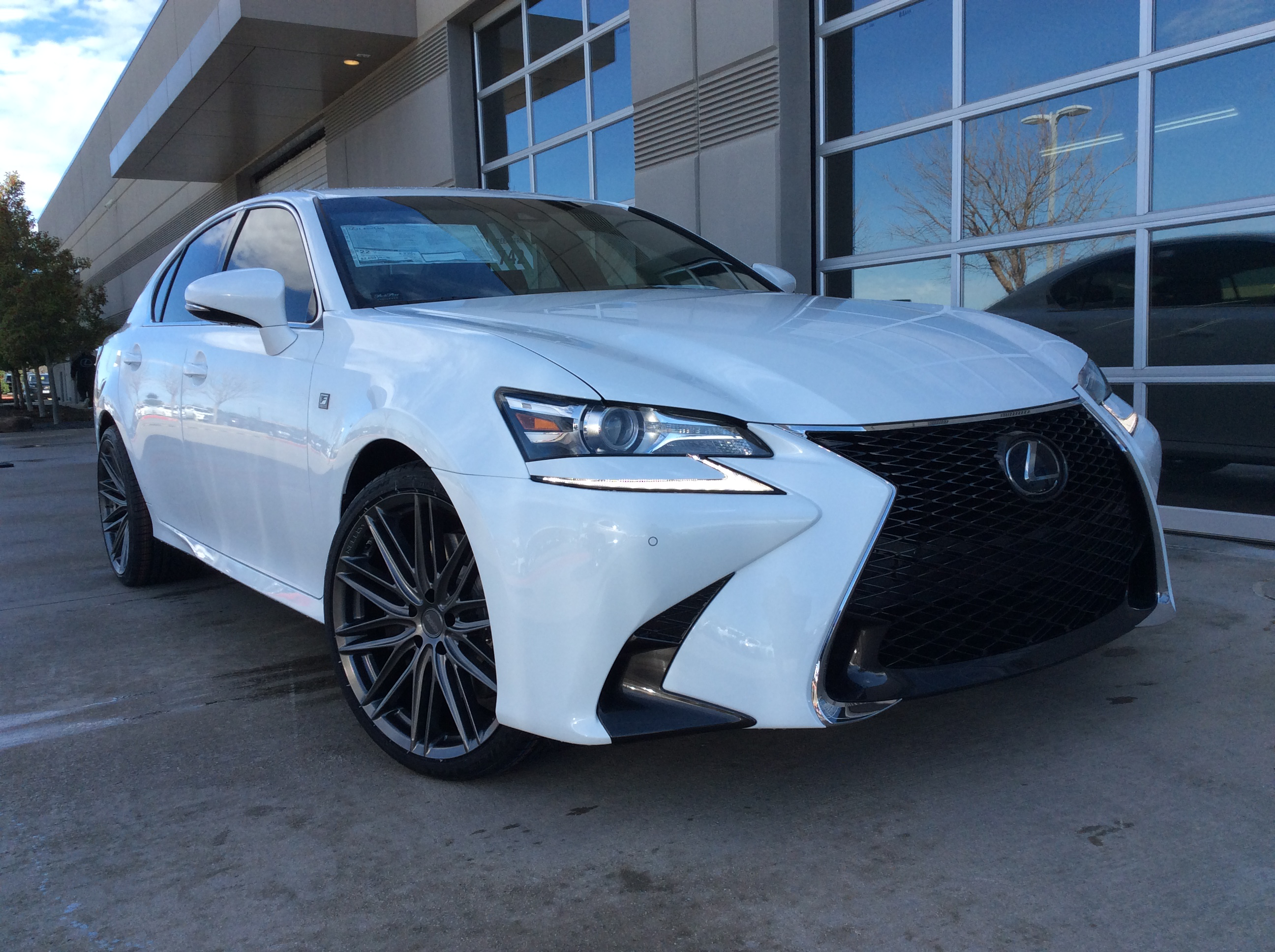 2019 Lexus Gs F Sport With Staggered Vossen Vfs 4 Wrapped In Continental Tires 20x9 Front 20x10 5 Rear 245 35 20 Front 285 Lexus Tacoma Truck Automotive Design