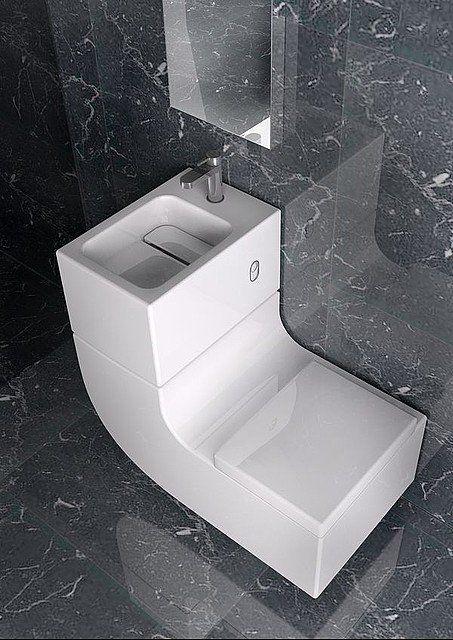 Lavabo Recicla Agua.Eco Design W W El Sanitario Que Recicla El Agua Del