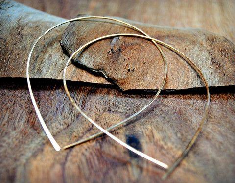 drop shaped hoop earrings, Raindrop Hoops – tiffanyannestudiosx Raindrop Hoops $ 35.00  Size: Medium or Large in Gold