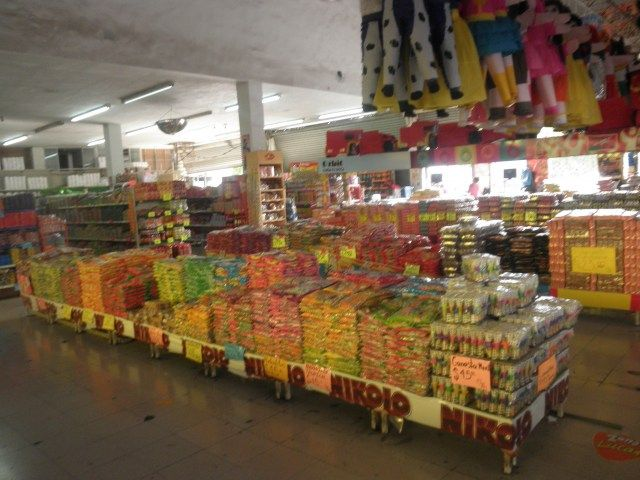 Candy Shop in Juarez, Mexico. Sweet memories of childhood.