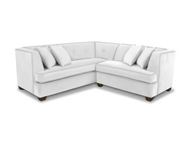 Superb Bassett Living Room L Shaped Sectional   Furniture Showcase   Stillwater, OK