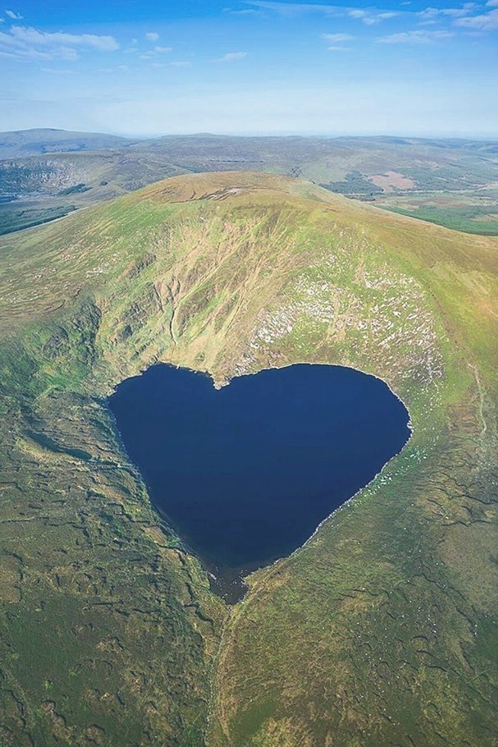 Lough Ouler At Wicklow Mountains In 2021 Ireland Tourism Visit Ireland Ireland Travel