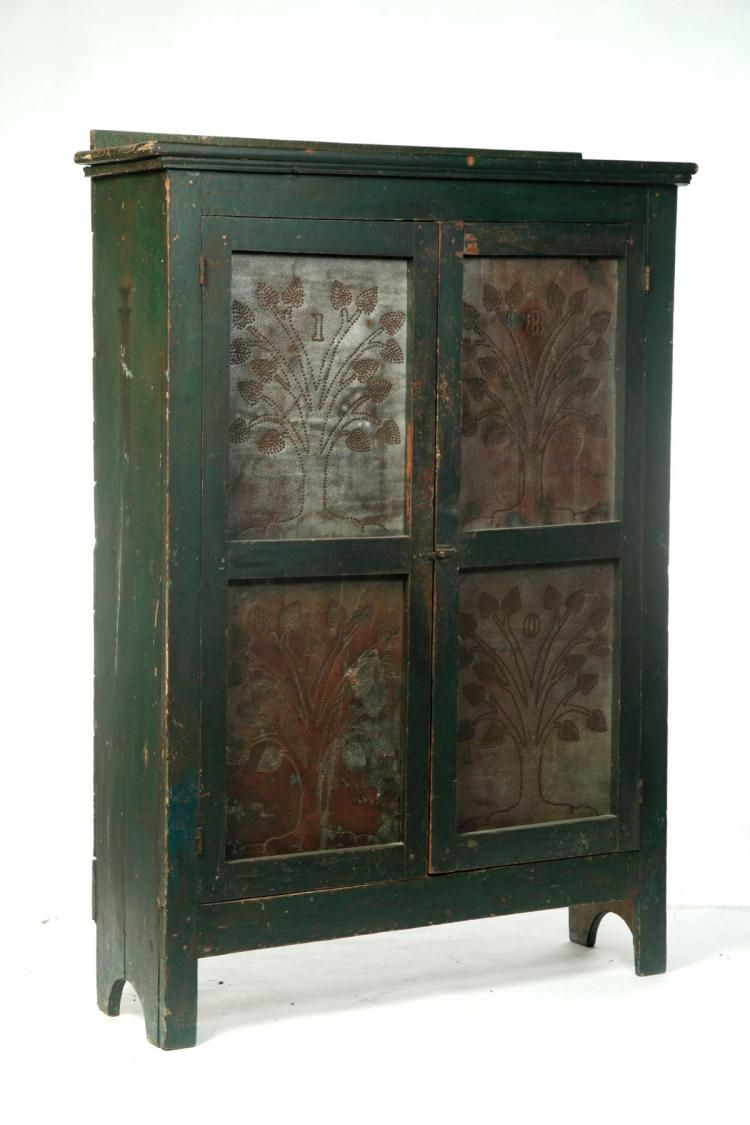 American Punched Tin Pie Safe Pie Safe Antique Pie Safe Punched Tin