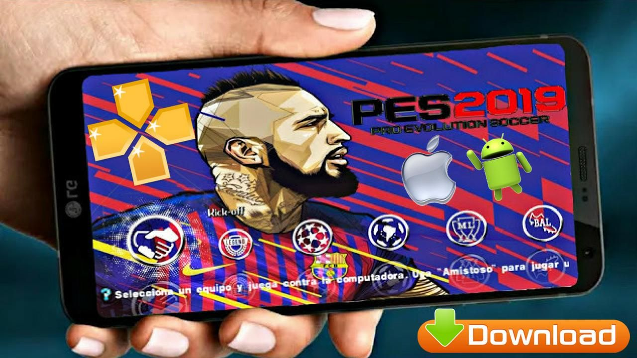 PES2019 Offline Android Game Download | Android games | Games, Android