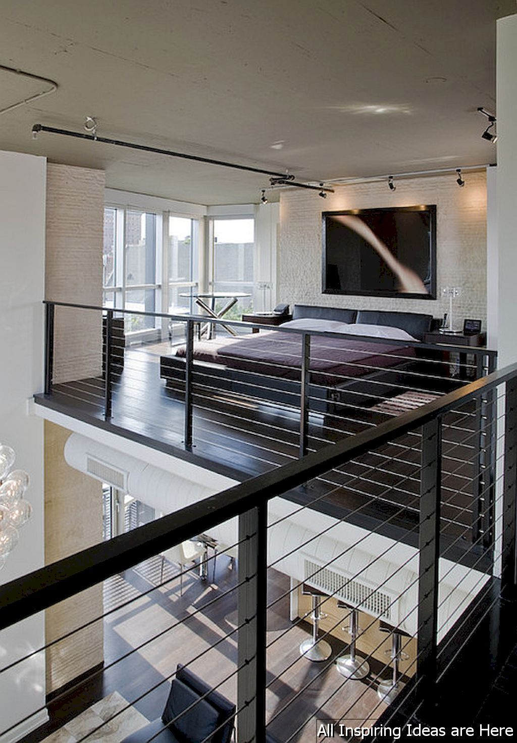 60 Stunning Loft Bedroom Design Ideas 60