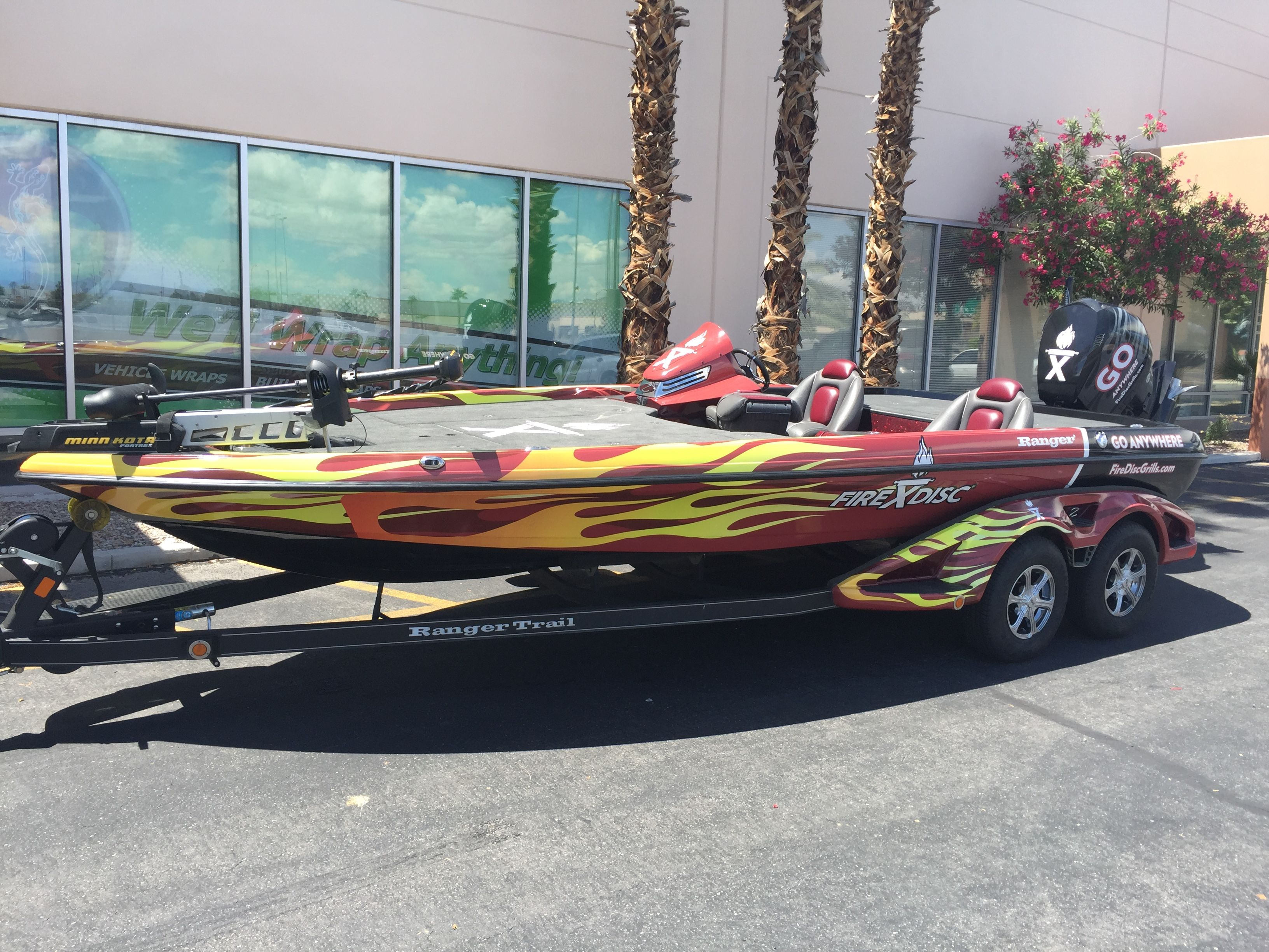 This Ranger Z521c Bass Boat  Boat Graphics Las Vegas  This