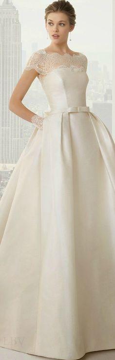 Rosa Clara 2015 Bridal | LBV ♥✤ QU'EST CRVQUE LA ROBE EST BELLE!!!!!!!!!! la dentelle est trop belle