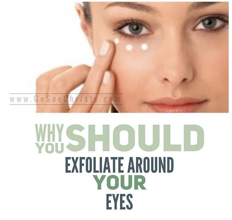 Exfoliating the skin around and under your eyes allows your should you exfoliate around your eyes how to exfoliate under your eyes ccuart Images