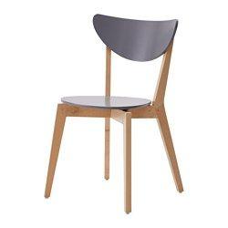 chaise de cuisine en bois bleu pas cher ikea