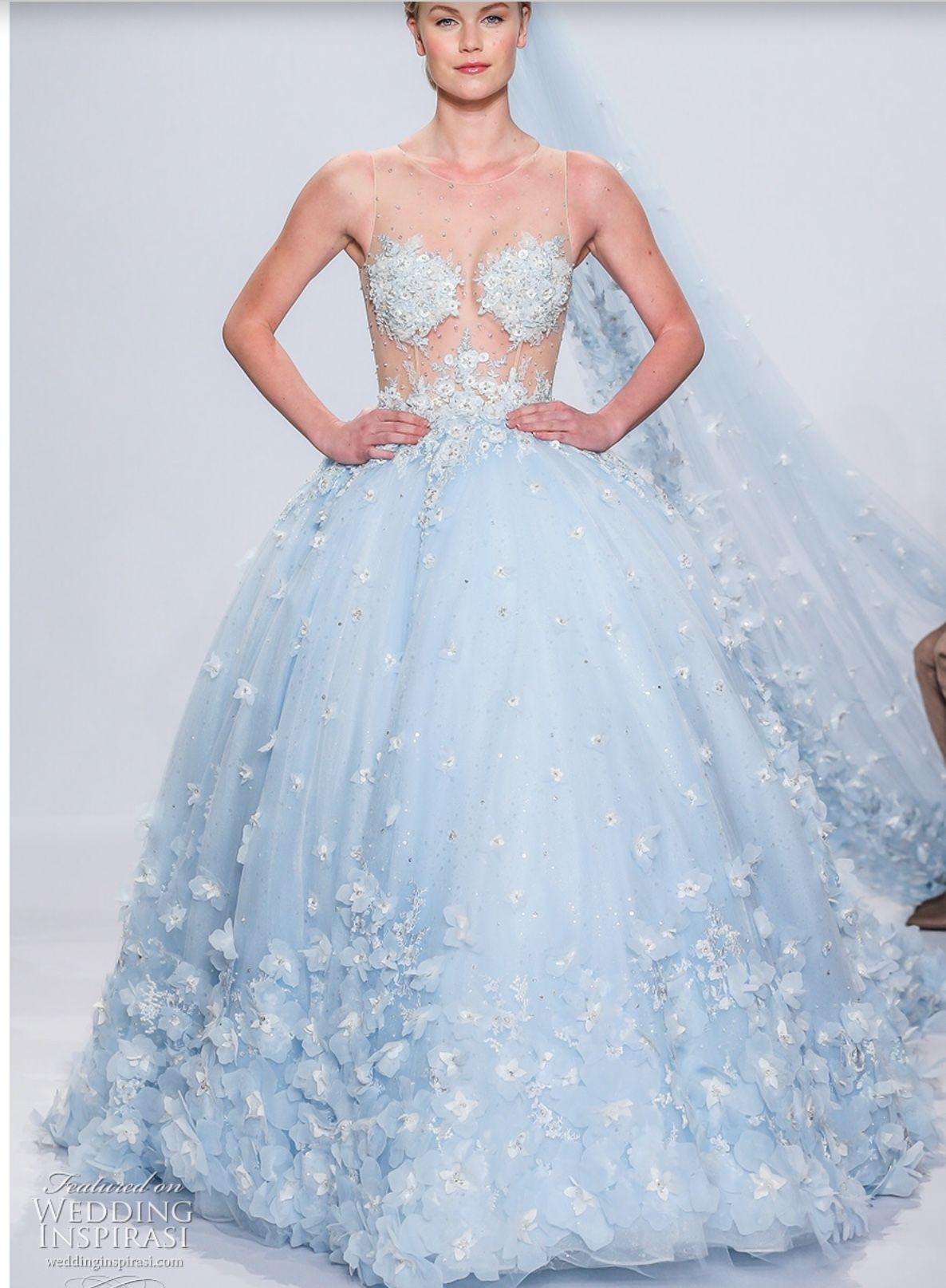 Pin by brides by liza on wedding gowns blue pinterest gowns
