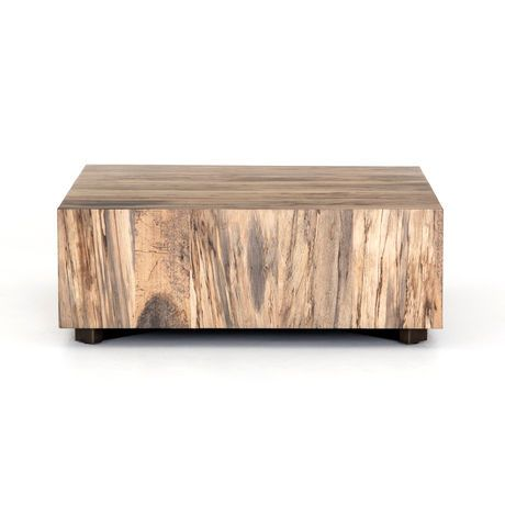 Hudson Square Coffee Table Spalted Reclaimed Wood Coffee Table