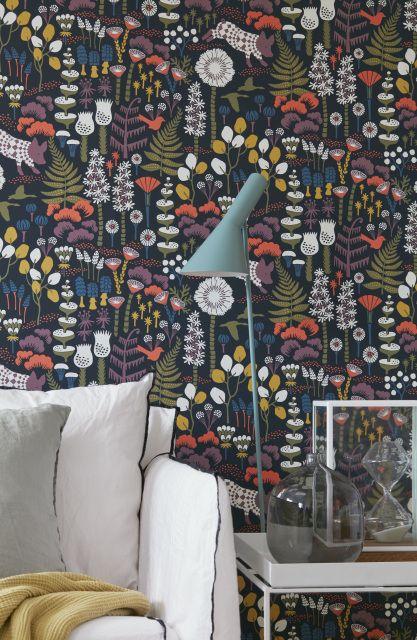 43 best wallpaper images on Pinterest | Designer wallpaper ...