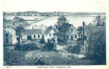 View of Bathurst New Brunswick Canada 1915-30s Postcard