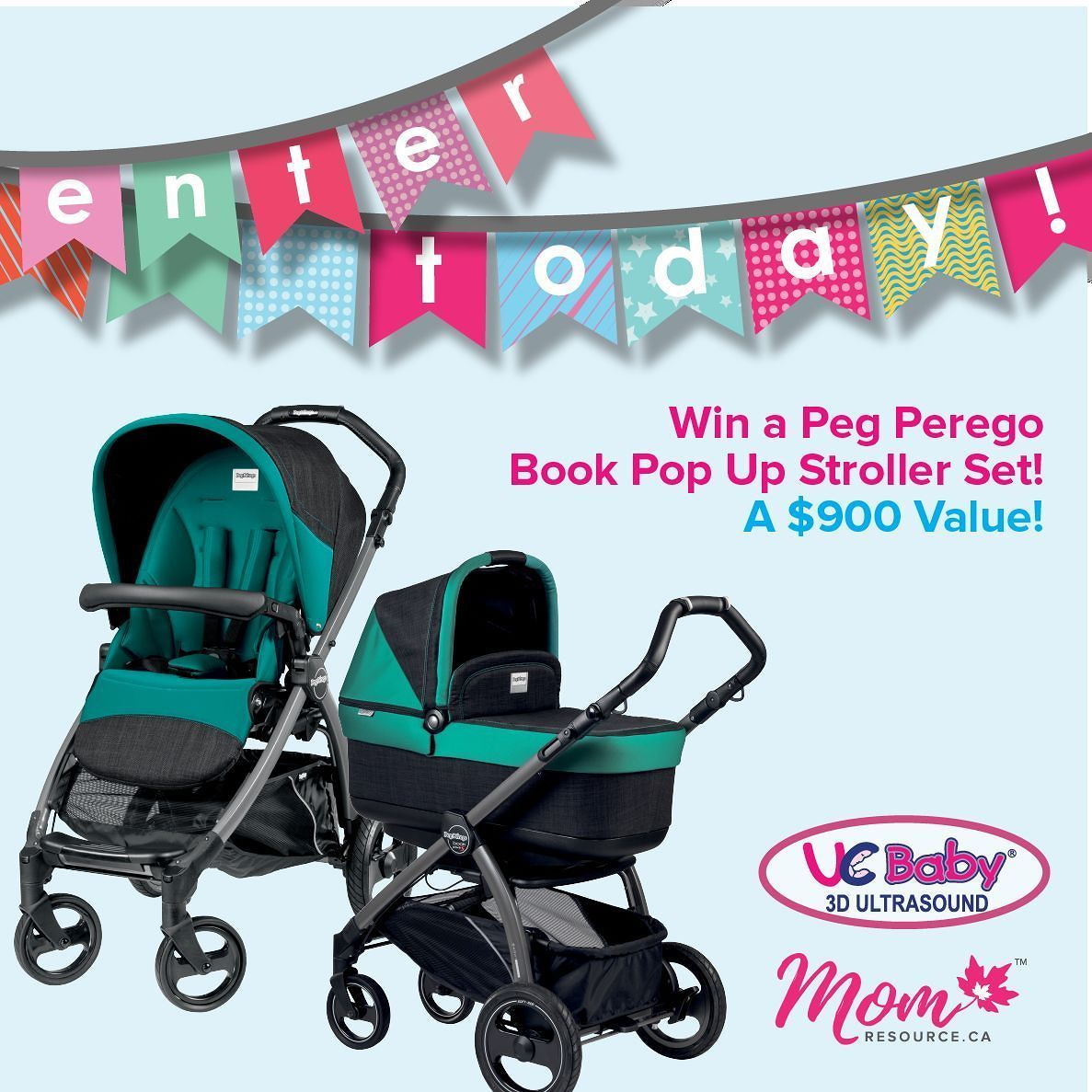 Giveaway alert! We've partnered with ucbaby.ca and we're
