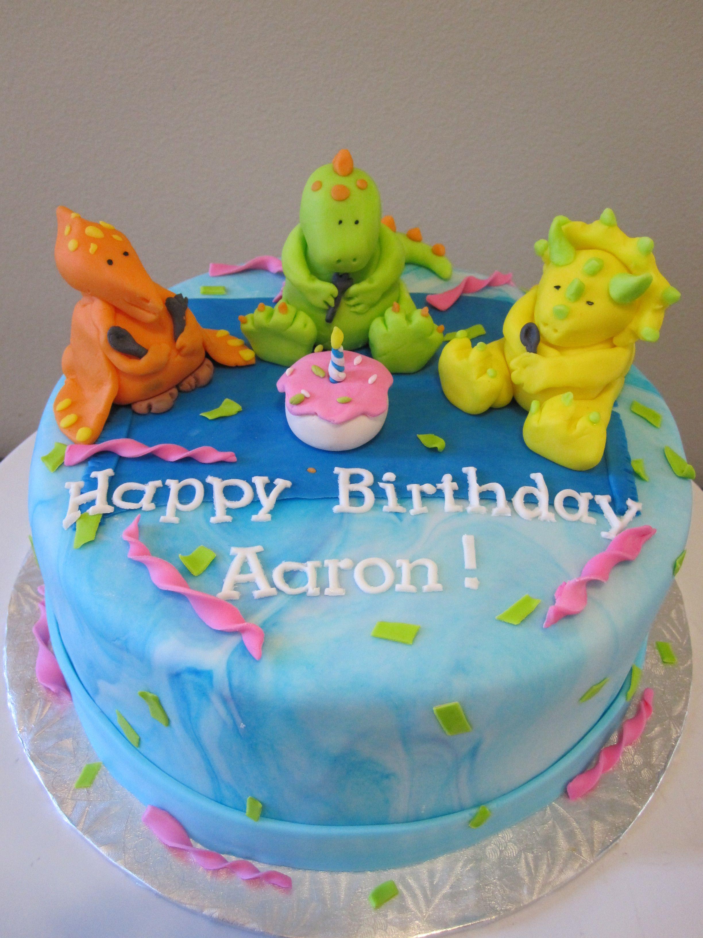 Dinosaur Cake dinosaurios Pinterest Dinosaur cake Cake and