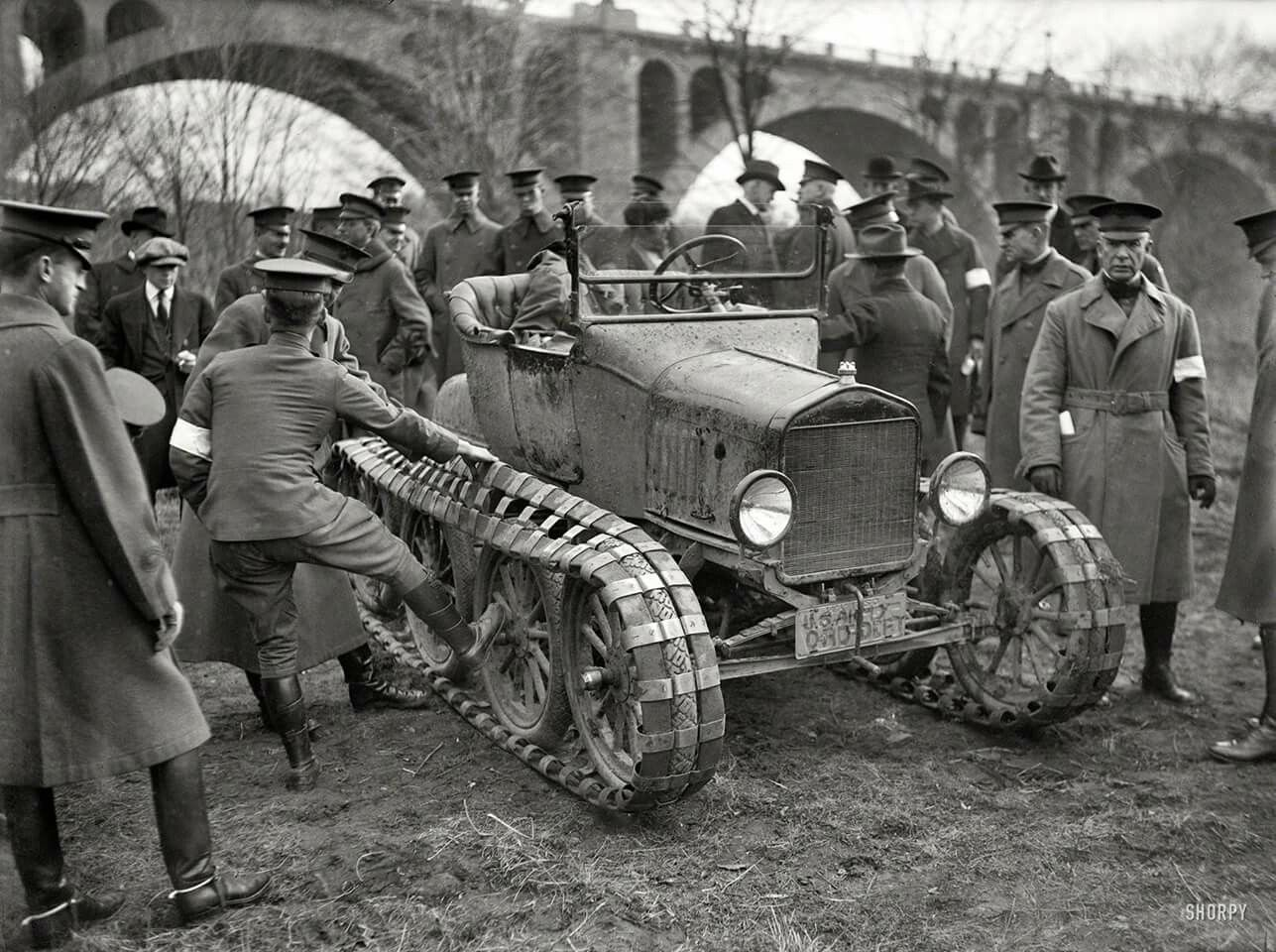 Another view of the 8 wheel ford tractor modified model t the