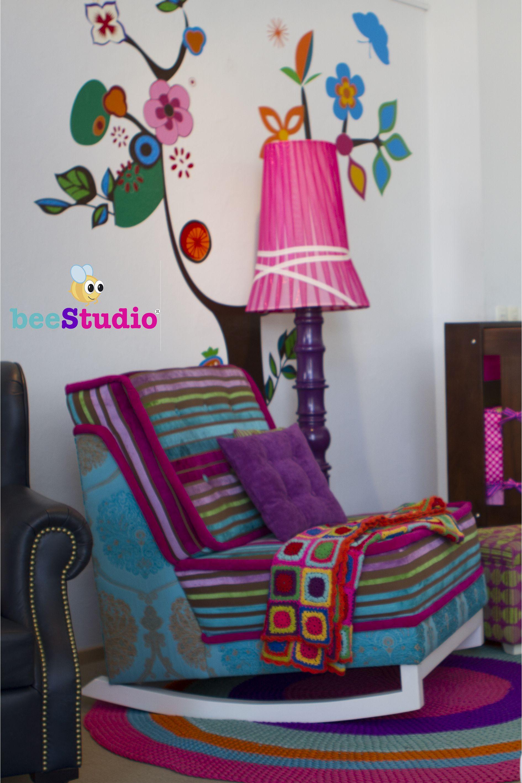 Mecedora Crunch Lampara Pink Showroom Liquidaci N Julio 2015  # Beestudio Muebles