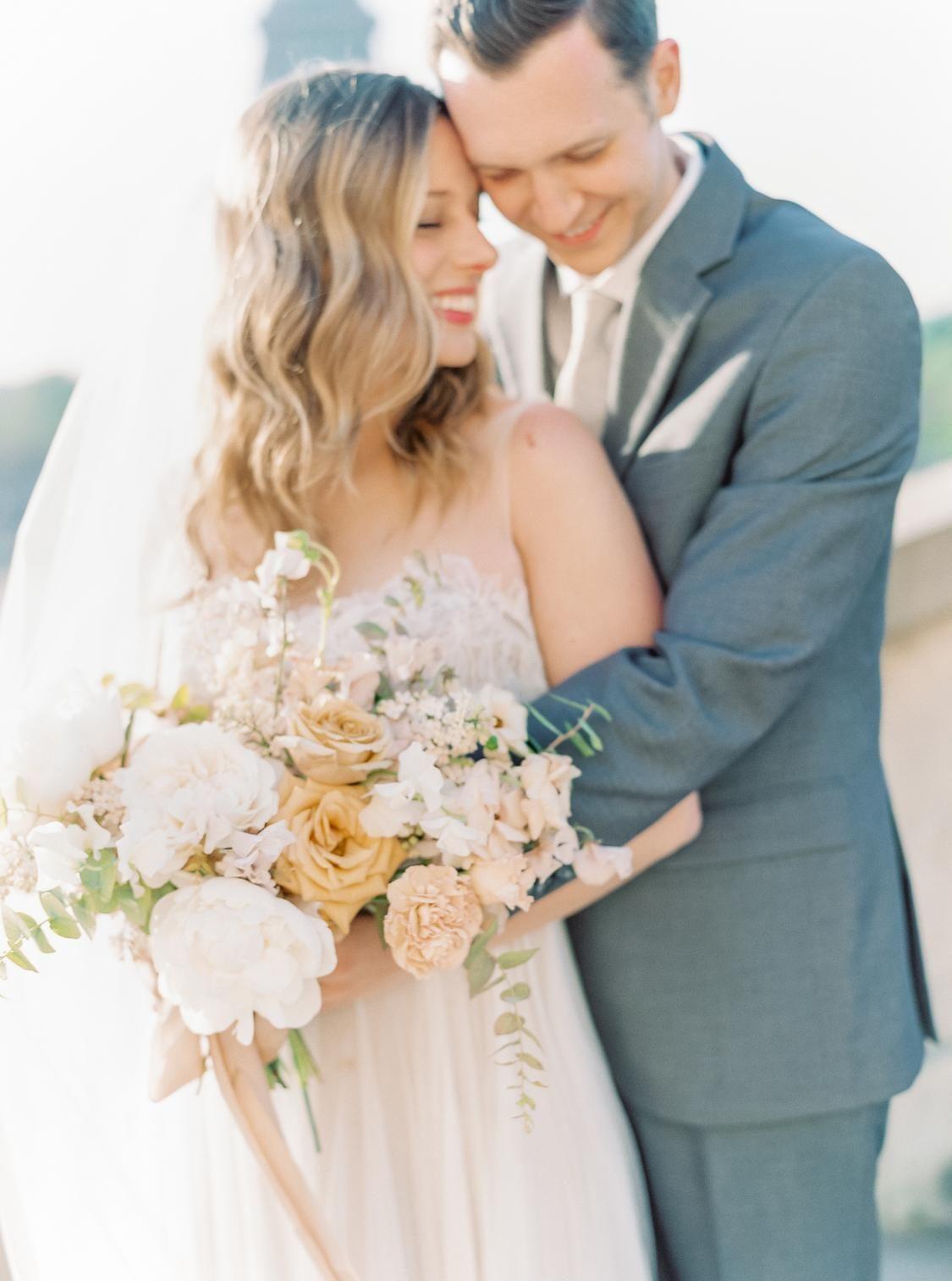 This Romantic Spring Elopement In Paris Is Every Girl S Dream Timeless Wedding Dress Film Wedding Photography Elegant Wedding Inspiration