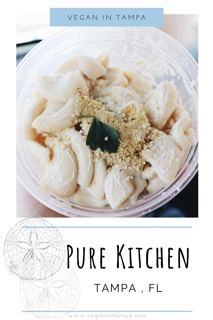 Pure Kitchen Vegan In Tampa Tampa Florida Vegan Cafe Vegan Food