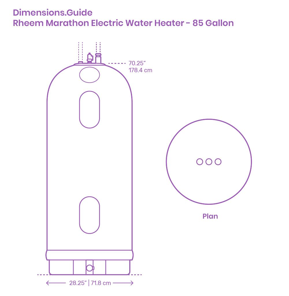 The Rheem Marathon Electric Water Heater 85 Gallon Features A Bowl Shaped Tank Bottom That Allows For Complete Sedi In 2020 Electric Water Heater Water Heater Gallon