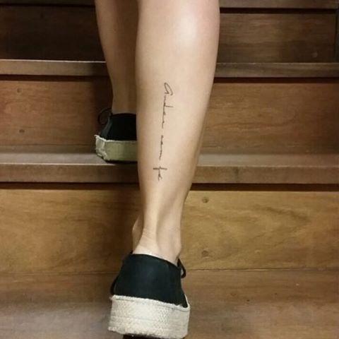Andar Com Fe Tatuagem Feminista Andar Com Fe Tatuagem