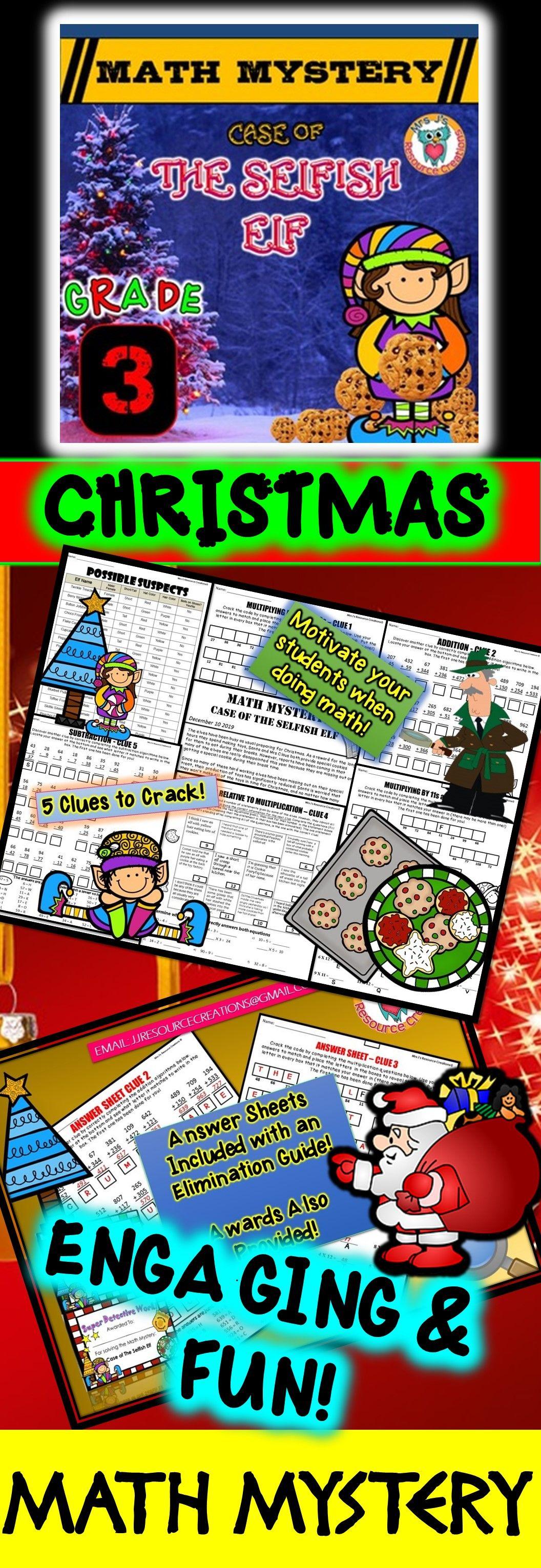 Christmas Math Mystery