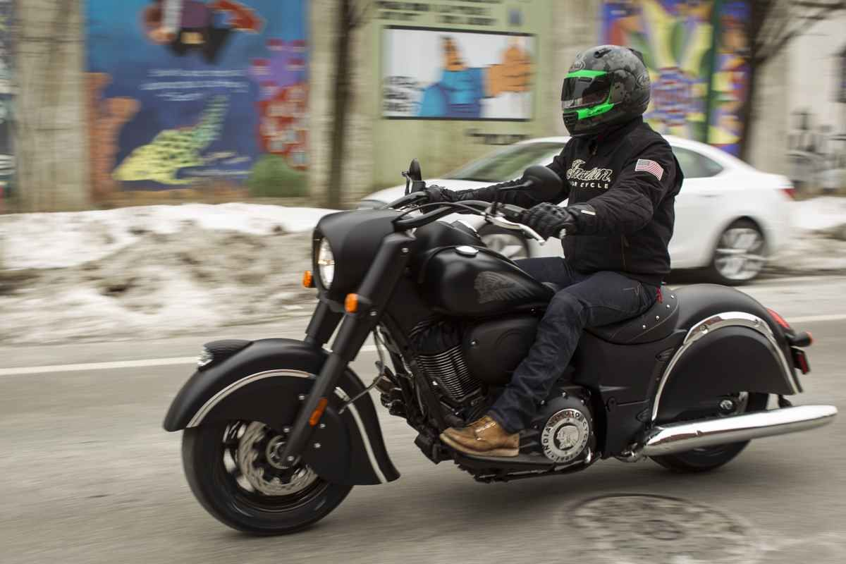 Meet indian motorcycles first model of 2016 indian chief dark - First Ride 2016 Indian Chief Dark Horse