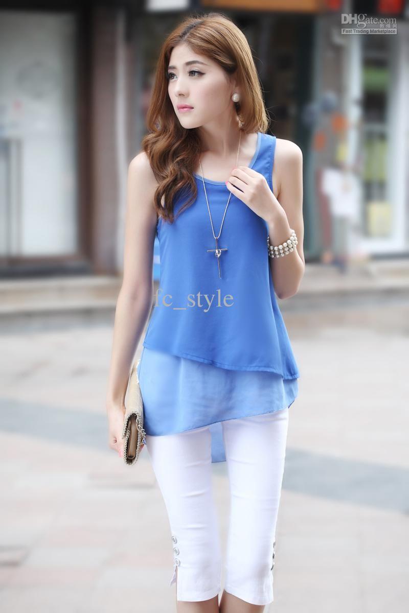 dress blouses for women  Womens Blouses  Pinterest  Vests ...