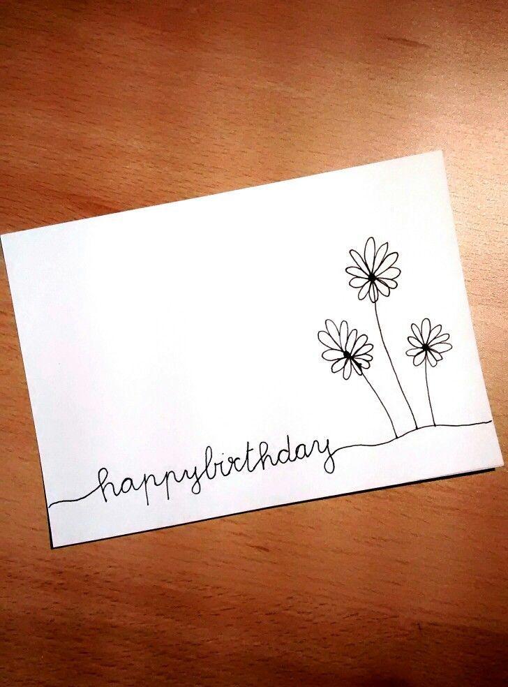 Happy birthday #handlettering #birthday #card