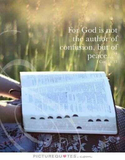 1 Cor 14:33