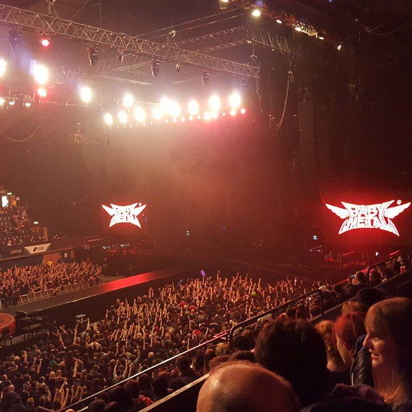 Babymetal at Wembley Arena April 2nd 2016