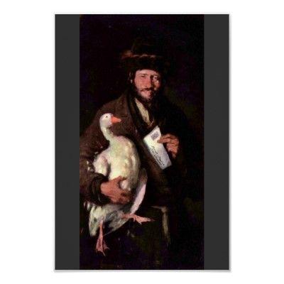 Judío con el ganso de Grigorescu Nicolae