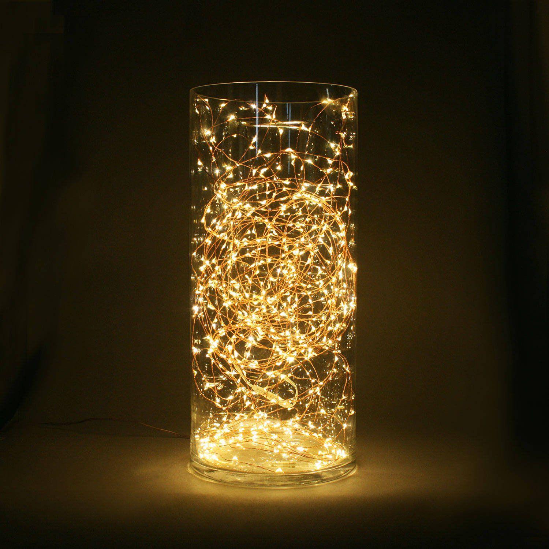 mood lighting - throw a tangle of fairy lights into a big glass vase ...