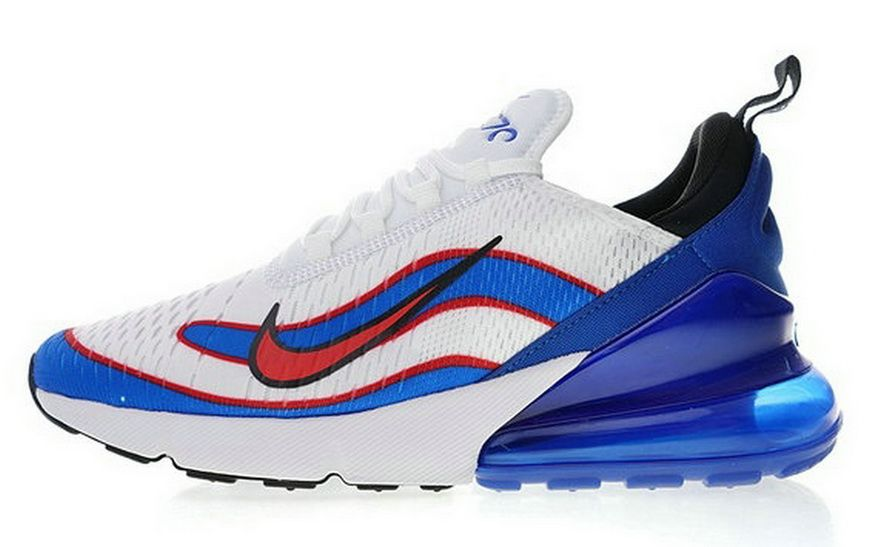 wholesale dealer c241c 44679 Nike Air Max 270 Flyknit Midnight Navy Black White Ah8050 400 Fashion Shoes  2018 Sneaker