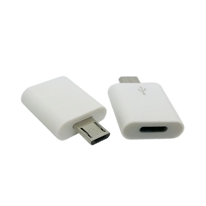 8 Pin Female to Micro USB Male sync charger adapter for