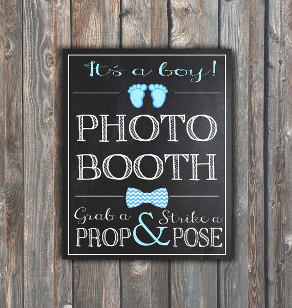 Baby Shower Photo Booth Sign Printable By Happyfiestadesign Baby Shower Photo Booth Baby Shower Photos Photo Booth Sign