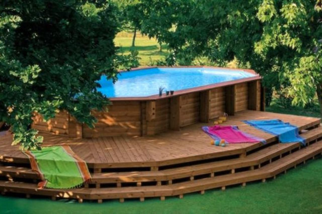 17 Ways to Pretty-Up an Above-Ground Pool in 2020 | In ...