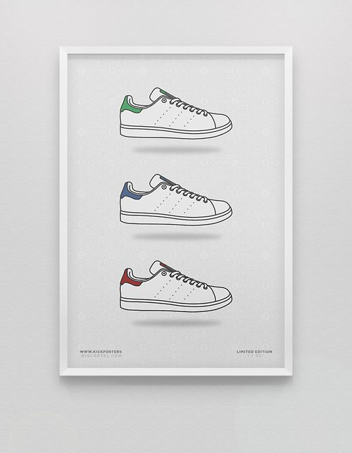 Stan Smith Pack via KickPosters