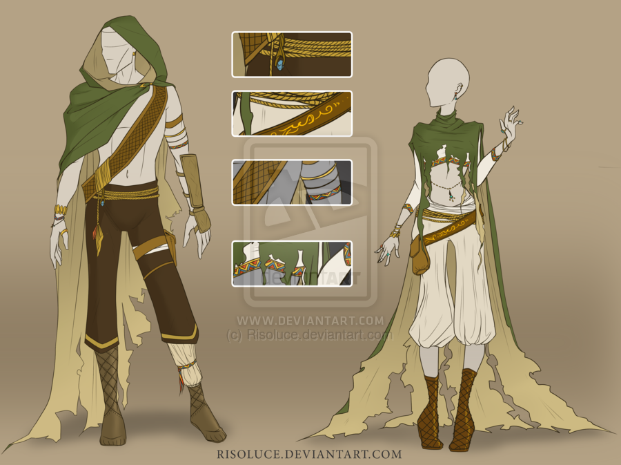 Closed Adoptable Outfit Auction 9 By Risoluce On Deviantart Anime Outfits Fantasy Clothing Character Design