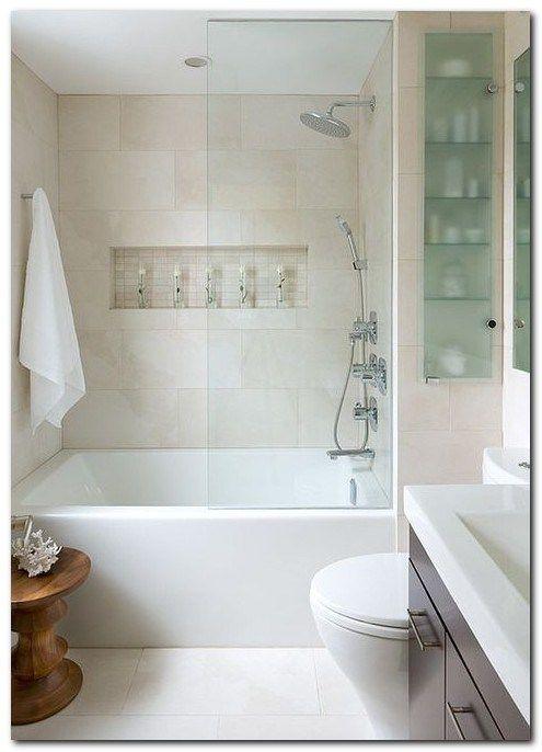 Modern Bath Tub Small Bathroom Remodeling Decorating Ideas Glass
