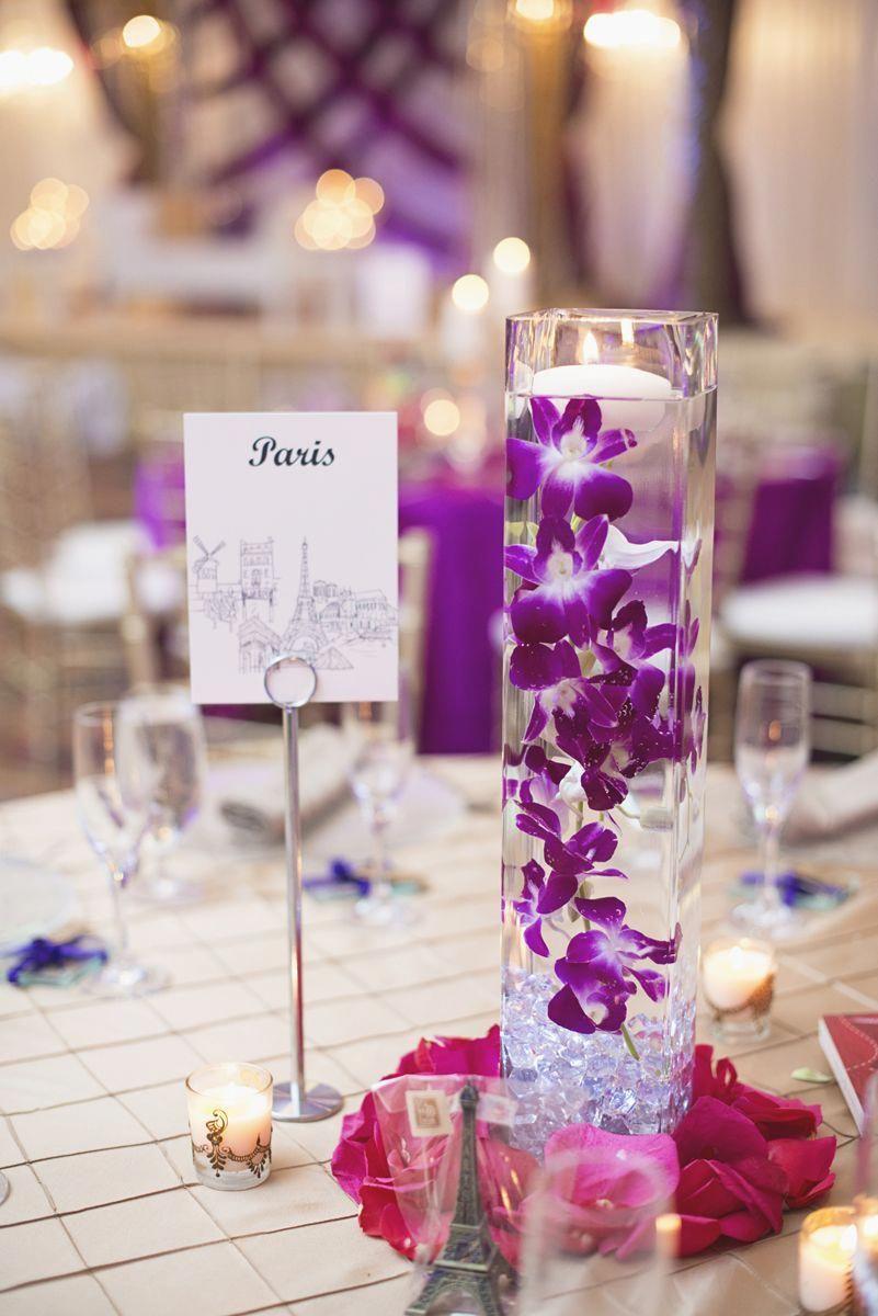 Royal Purple And Gold Indian Wedding Washington Dc Purple And