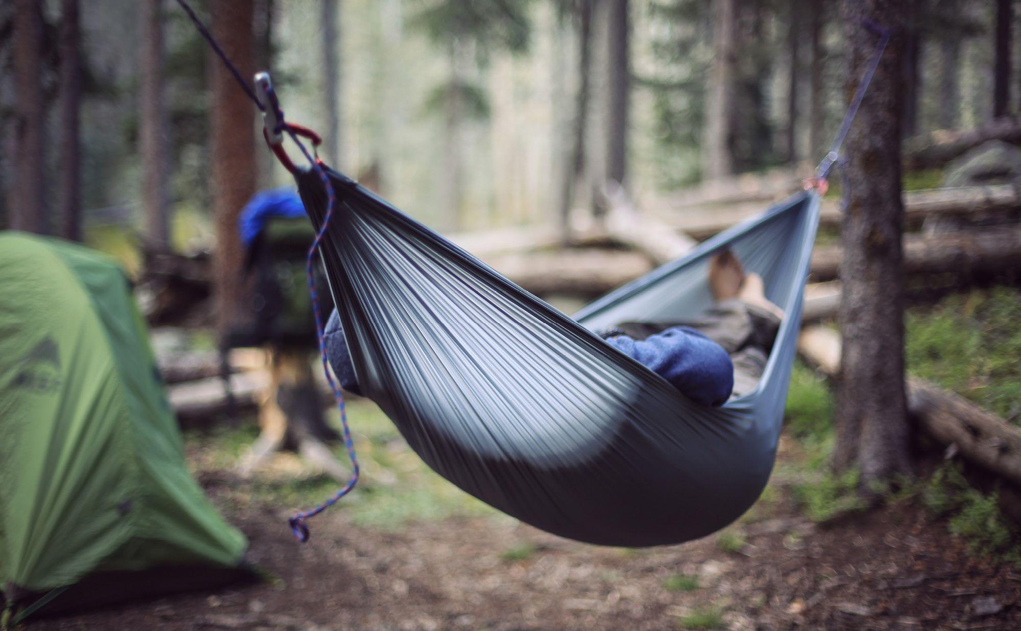 Nano premium ultra light hammock