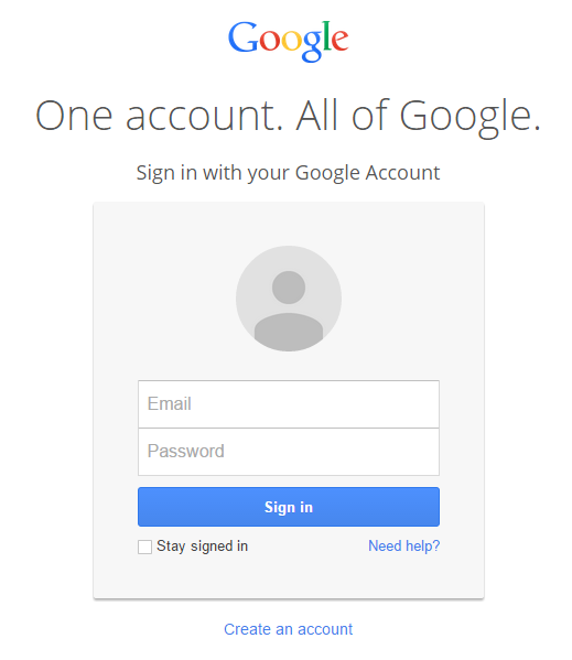 Technology Stuff: How To Create Your Own Blog   Gmail sign ...