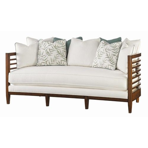 Ocean Club Exposed Wood St. Lucia Sofa by Tommy Bahama Home - Baer's Furniture - Sofa Miami, Ft. Lauderdale, Orlando, Sarasota, Naples, Ft. Myers, Florida