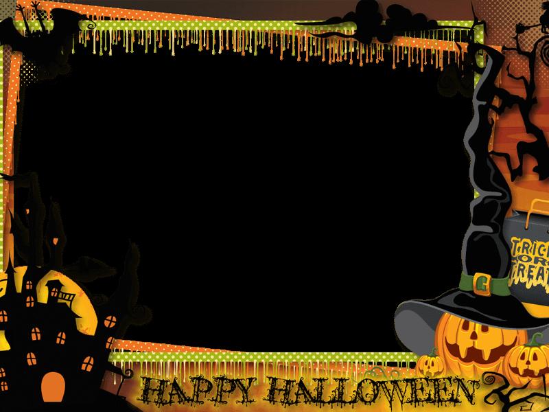 Halowen Marcos Halloween Halloween Invitaciones Y