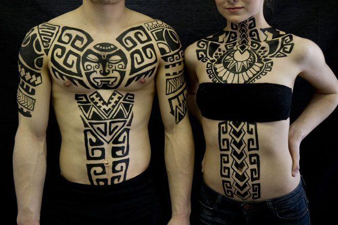 Henna Tattoo Montreal : Polynesian body art west island of montreal based henna and