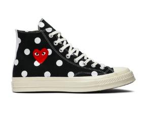 Chuck taylor all star, Black polka dot