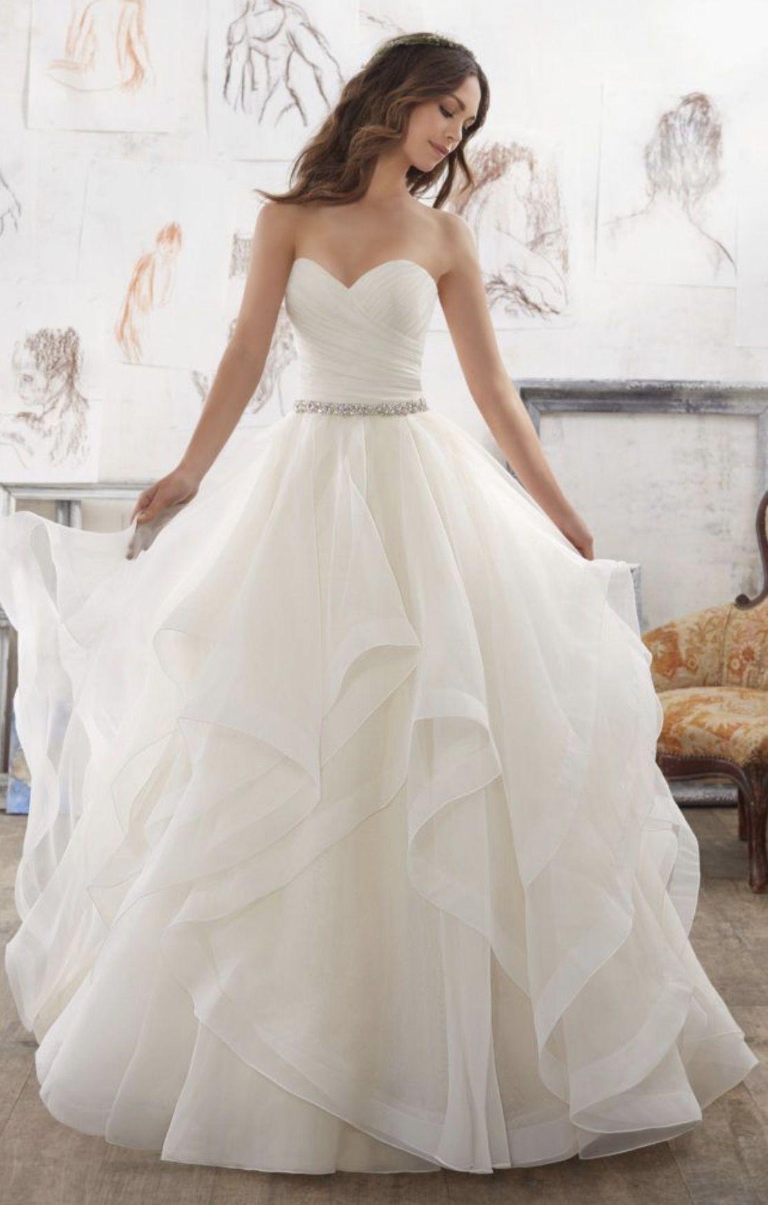 Pin by Princess on Dresses   Pinterest   Wedding dress, Wedding and ...
